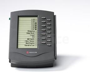 Модуль черно-белый Polycom SoundPoint IP для SoundPoint