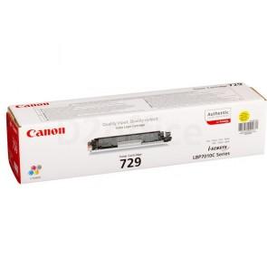 Canon 729 жёлтый
