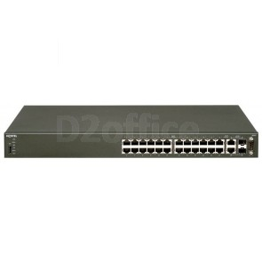 Avaya Ethernet Routing Switch 4526T-PWR with 24 10/100 802.3af PoE ports plus 2 combo 10/100/1000 SFP ports