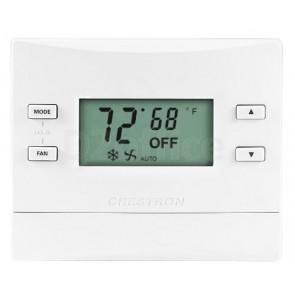 Crestron infiNET EX Thermostat Fan Coil Unit, Matte Almond