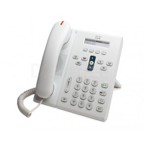 Cisco Unified IP Phone 6921 Arctic White Standard Handset