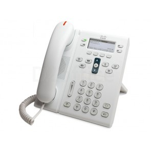 Cisco Unified IP Phone 6941 Arctic White  Slimline Handset