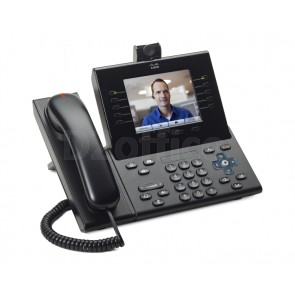 Cisco Unified IP Phone 9951, Charcoal, Slimline Handset, Camera
