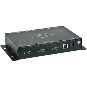 Crestron 1-to-2 HDMI® Distribution Amplifier & Audio Converter