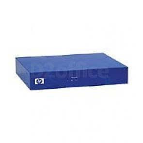 HP E-MSM710 Mobility Controller (2x10/100/1000, up to 10 a/b/g/n MAPs, PoE intut, need rack mounting kit (J9404A) for 1U rack mount)