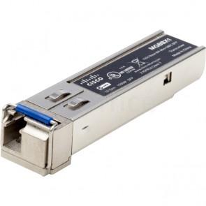 100BASE-FX SFP transceiver for multimode fiber, 1310 nm wavelength, supports up to 10 km