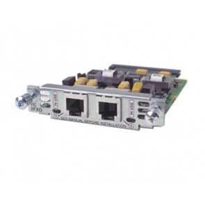 Two-port Voice Interface Card - FXO (Universal)