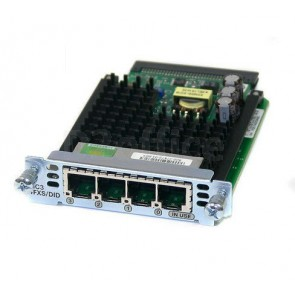 Cisco Four-port FXS and DID voice/fax interface card