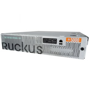 Ruckusk ZoneDirector 5000 support up to 100 APs, AC Power